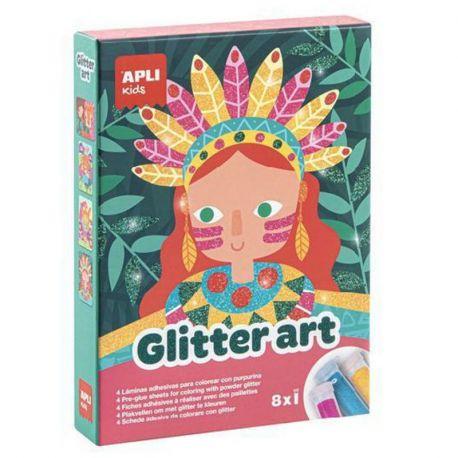 BOITE GLITTER ART