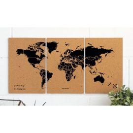 PUZZLE WOODY MAP M - BLACK