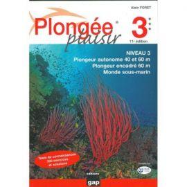 PLONGEE PLAISIR 3 NIV 3 TESTS DE CONNAISSANCES