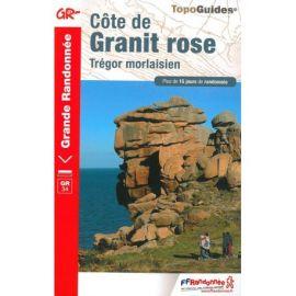 GR346 COTE DE GRANIT ROSE TREGOR MORLAISIEN