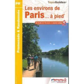 RE01 LES ENVIRONS DE PARIS  A PIED
