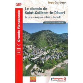 GR4834 LE CHEMIN DE ST-GUILHEM-LE-DESERT LOZERE - AVEYRON - GARD - HERAULT