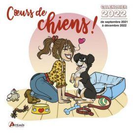 CALENDRIER COEURS DE CHIENS ! 2022 MARIE CRAYON