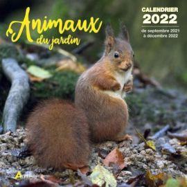 CALENDRIER ANIMAUX DU JARDIN 2022