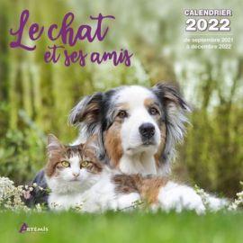 CALENDRIER LE CHAT ET SES AMIS 2022
