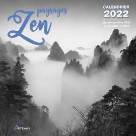 CALENDRIER PAYSAGES ZEN 2022