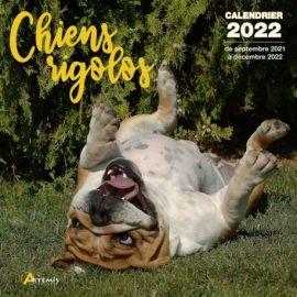 CALENDRIER CHIENS RIGOLOS 2022