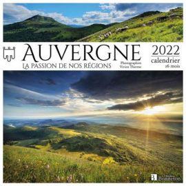 CALENDRIER AUVERGNE 2022