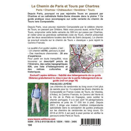 LA VOIE DE PARIS ET TOURS PAR CHARTRES