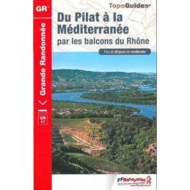 GR411 DU PILAT A LA MEDITERRANEE BALCONS RHONE + DE 20 J DE RANDO