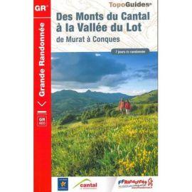 GR465 DES MONTS DU CANTAL A LA VALLEE DU LOT