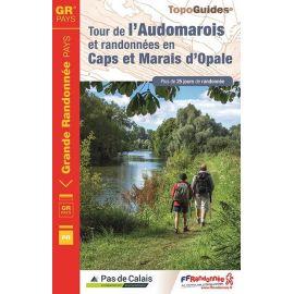 GR6200 TOUR DE L'AUDOMAROIS ET RANDO CAPS MARAIS OPALE