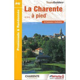 D016 LA CHARENTE.....A PIED 29 PROMENADES & RANDONNEES