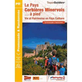 P116 LE PAYS CORBIERES MINERVOIS  A PIED