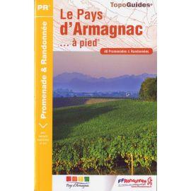 LE PAYS D ARMAGNAC P322 A PIED