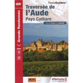 GR360 LA TRAVERSEE DE L'AUDE CORBIERES GR36-GR36A-GR36B