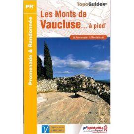 P842 LES MONTS DE VAUCLUSE A PIED