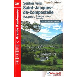 GR6534 SENTIER VERS ST-JACQUES-COMPOSTELLE VIA ARLES TOULOUSE JACA LOURDE