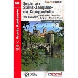 GR6543 SENTIER ST-JACQUES PERIGUEUX-RONCEVAUX