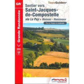 GR653 SENTIER VERS SAINT-JACQUES MOISSAC-RONCEVAUX