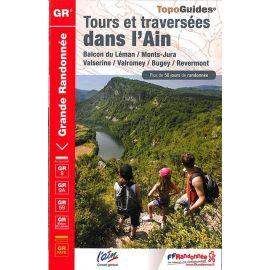 GR901 TOURS ET TRAVERSEES DS L'AIN BALCON DU LEMAN-MONTS JURA VAL