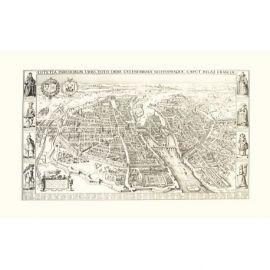 PLAN DE PARIS (1618) 75 CM X 105 CM