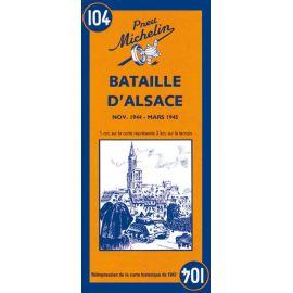 BATAILLE D'ALSACE NOV 1944 MARS 1945
