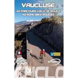 VAUCLUSE 42 PARCOURS VEOL DE ROUTE