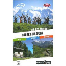 PORTES DU SOLEIL ENGLISH BOOKS 56 MTB ROUTES
