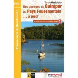 P299 DES ENV. DE QUIMPER AU PAYS FOUESNANTAIS P 299 A PIED