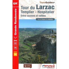 GR710 TOUR DU LARZAC/TEMPLIER HOSPITALIER/ENTRE CAUSSES & VALLEES