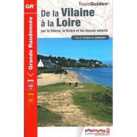 GR349 DE LA VILAINE A LA LOIRE PAR LE LITTORAL LA BRIERE LES MARAIS SALAN