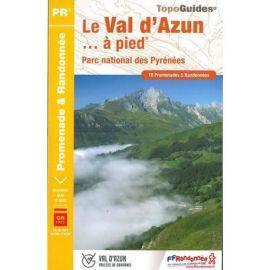 ST10 LE VAL D'AZUN  A PIED PARC NATIONAL DES  PYRENEES