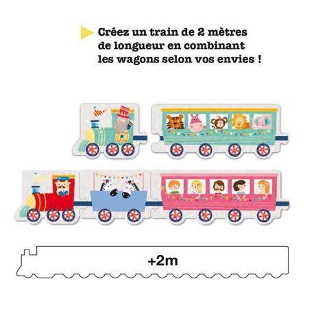 BOITE PUZZLE TRAIN 20 PIECES