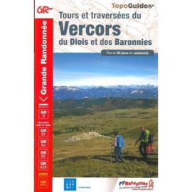 GR904 TOURS ET TRAVERSEES DU VERCORS DU DIOIS/BARRONIES