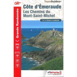 GR345 COTE D'EMERAUDE LES CHEMINS DU MONT-ST-MICHEL