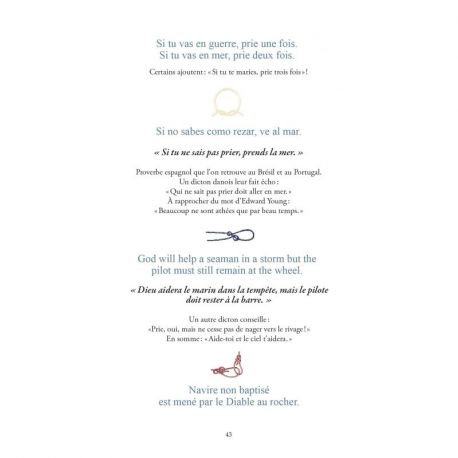 PROVERBES & DICTONS MARINS