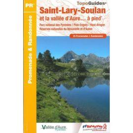 ST07 SAINT LARY - SOULAN VALLEE D'AURE A PIED