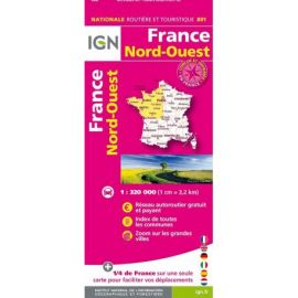 801 FRANCE NORD-OUEST RECTO/VERSO
