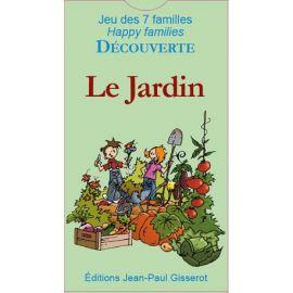 LE JARDIN JEU 7 FAMILLES DÉCOUVERTE