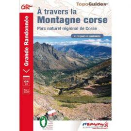 GR 067 A TRAVERS LA MONTAGNE CORSE PNR REGIONAL CORSE