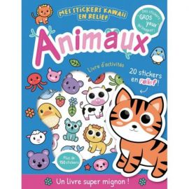 ANIMAUX - MES STICKERS KAWAII EN RELIEF