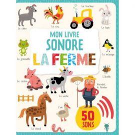 MON LIVRE SONORE - LA FERME 50 SONS