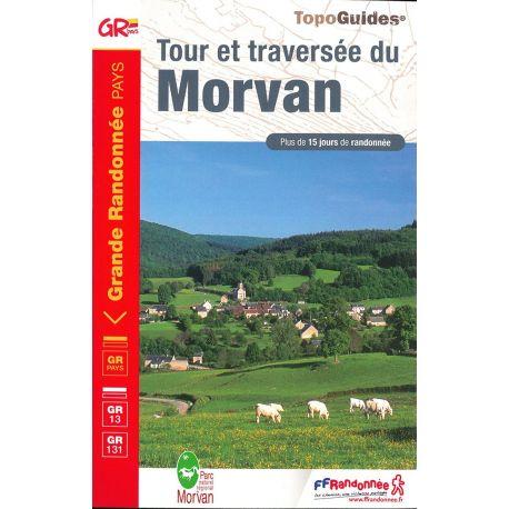 GR111 TOUR ET TRAVERSEE DU MORVAN