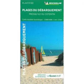 PLAGES DU DEBARQUEMENT - PRESQU ILE DU CONTENTIN - ROUTE TOURISTIQUE - PLASTIFIEE