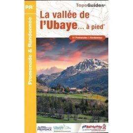 P043 LA VALLEE DE L'UBAYE  A PIED