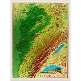 FRANCHE COMTE 42 X 31 CM