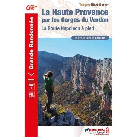 HAUTE PROVENCE-GR PAYS & GR 4 PAR LES GORGES DU VERDON