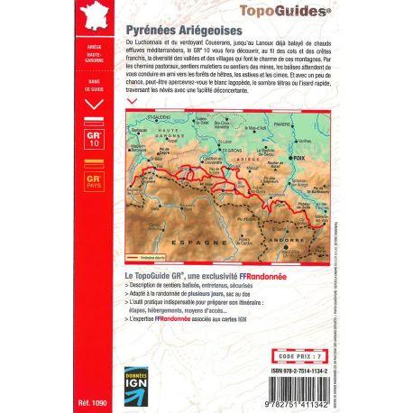 GR1090 PYRENEES ARIEGEOISES ET TOURS DU VAL DU GARBET ET DU BIROS