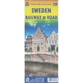 SWEDEN / SUEDE RAILWAY & ROAD